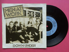Men At Work - Down Under / Crazy, Epic EPC A1980 Ex Condition