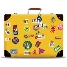 Removable Vintage Art Decal Wall Stickers For Travel Suitcase Skateboard 50*70cm
