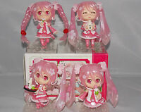 Vocaloid Miku Sakura Ver. Mini Japanese Anime Figure Sets CHN Ver.