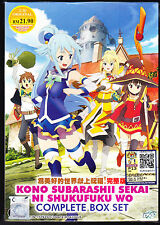*NEW* KONOSUBA *10 EPISODES*ENGLISH SUBTITLES*ANIME LOT*US SELLER*FREE SHIPPING!