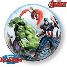 "Marvel Avengers Assemble 22"" Stretchy Bubble Balloon Party Decoration"