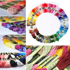 Lots 45 Cotton Cross Floss Stitch Thread Embroidery Sewing Skeins Multi Colors
