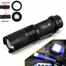 Ultrafire 5000LM Zoomable CREE XM-L T6 LED Flashlight Torch Super Bright Light V