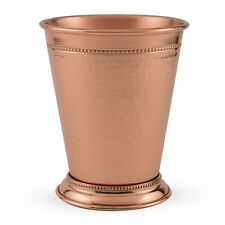 Hammered Copper Mint Julep Cup - 12 fl oz - Kentucky Derby Drink Cocktail Glass