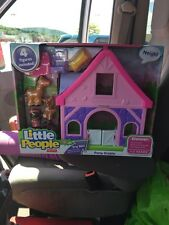 fisher price little people Stable Pony Horse Ranch Farm Pink Sounds New Box