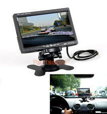 "7"" TFT LCD Digital Color Screen Car Monitor for Backup Rear View Camera"