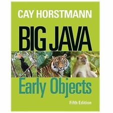 Big Java Early Objects 5Th Ed Isv Int'L Edition