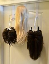 WIGMATE WIG STAND - Long Wig Over Door Hanger + Adhesive Base