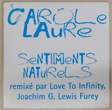 Carole Laure CDs Promo Sentiments naturels 1997