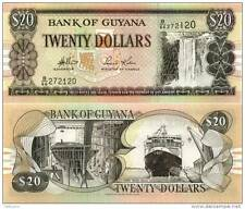 Guyana - 20 Dollars - UNC currency note