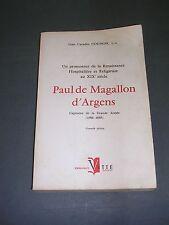 Premier empire Biographie Magallon d'Argens capitaine de la grande armée Ed 1960