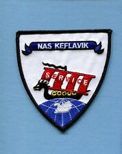 NAS NAVAL AIR STATION KEFLAVIK ICELAND US Navy Base Squadron Jacket Patch