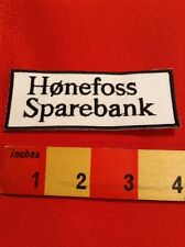 FOREIGN LANGUAGE PATCH (FOR ENGLISH SPEAKERS). HONEFOSS SPAREBANK