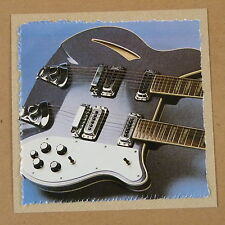 POP-KARD feat. RICKENBACKER 362/12 DETAIL , 15x15cm greeting card aas