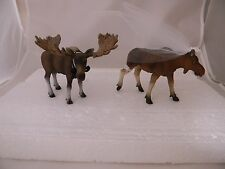 Wedding Reception Ceremony Party Moose Bride & Groom Hunting Cake Topper