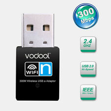 VODOOL 300M USB Wifi Wireless Adapter Network Card Adapter 802.11b/g/n 300Mbps