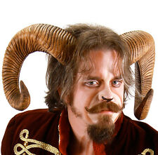 Ram Rams Horns Devil Demon Adult Halloween Costume Accessory