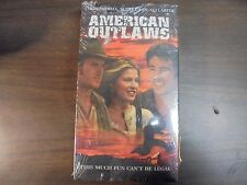 """USED """"American Outlaws""""    VHS Movie (G)"""