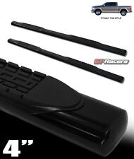 "4"" HD BLACK SIDE STEP NERF BARS RUNNING BOARDS 2009-2014 DODGE RAM 1500 CREW CAB"