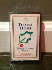 Diana Ross - Making Spirits Bright (cassette, 1994) New And Sealed