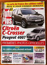 AUTO PLUS du 31/10/2006; Citroën C-Crosser/ BMW série 3/ Toyota/ Picasso