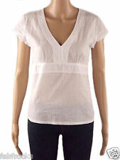 NEW WHITE STUFF LADIES OFFICE TUNIC SHIRT BLOUSE TOP  SIZE 8  FITTED