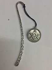 Masonic Coin PP-G25 Pattern Bookmark 3D English pewter charm