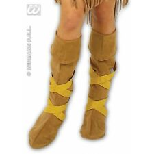Indian couvre-bottes chaussures for native american wild west cow-boys fancy dress