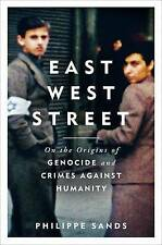 New East West Street by Philippe Sands -Hardback Book 2016 Winner of the Baillie