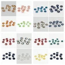120 pcs Swarovski 10mm Middle hole Plum Blossom Crystal bead D Mixed colored