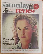 Ruth Wilson – The Times Saturday Review – 3 August 2013