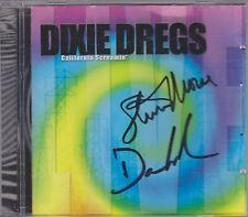 DIXIE DREGGS SIGNED CD AUTOGRAPHED STEVE MORSE deep purple - DAVE LaRUE