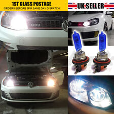 2 X H15 DRL HIGH BEAM BULB AUDI GOLF MK7 WHITE XENON CANBUS ERROR FREE UPGRADE