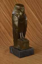 Dali Abstract Modern Art Owl Bronze Sculpture Marble Statue Home Decor Hot Cast