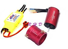 LEOPARD 4074 1050kv motor +70A ESC & Water Cooling Jacket LB40WCJ-50MM For Boat