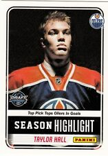 Taylor Hall 2010 PANINI DRAFT ROOKIE RC CARD #TH RARE GIVE-AWAY CARD B62