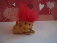 VALENTINE CUPID RING - Russ Troll Doll - NEW - Red Hair