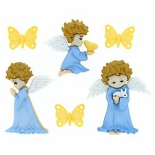 Jesse James Dress It Up Buttons Cherished Angels  #8979 Flat Rate Shipping