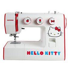 Máquina De Coser Janome Hello Kitty Nuevo Hogar 24 puntos Profesional Adulto