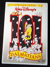 DISNEY -- 101 DALMATIANS -- DVD -- ANIMATED MOVIE LIMITED EDITION -- AUTHENTIC