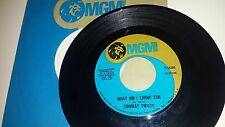 CONWAY TWITTY I'll Try / What Am I Living For MGM 14205 RARE ROCKABILLY 45