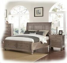 Adair 3 Piece KING Size Tawny Timber Bedroom Suite - BRAND NEW