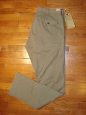NWT RRL Double RL Ralph Lauren Men's Dense Cotton Twill Chino Pants Olive 36X34