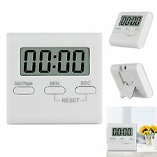LCD Digital Large Kitchen Cooking Timer Count-Down Up Clock Loud Alarm Reminder