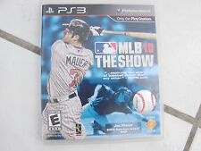 Playstation PS3 MLB 13 The Show Brand WITH INSTRUCTIONS AND CASE