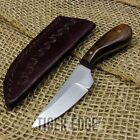 FIXED-BLADE HUNTING KNIFE   Mini Native American Small Full Tang Skinning Patch
