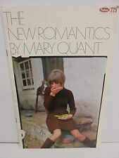 775 Patons Mary Quant The New Romantics Knitting  Pattern Book 10 Ass projects