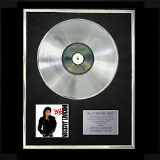 MICHAEL JACKSON BAD   CD PLATINUM DISC FREE P+P!!