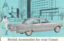 1960 Mercury Comet Accessories Brochure wd8836-DQ6NSW