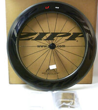 Zipp Firecrest 808 Carbon Clincher 77 Hub Front Wheel Black